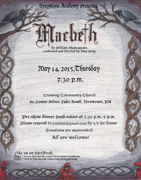 Macbeth Poster-Greystone Academy